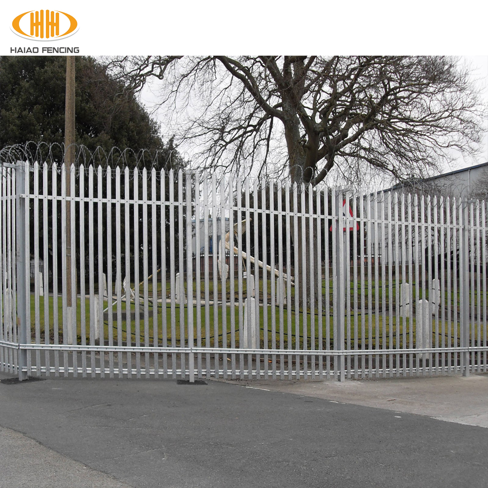 hot sales alibaba china <strong>d</strong> section palisade fence,w section palisade fence,cheap w section palisade fence