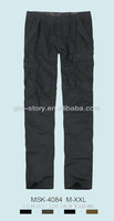 winter cargo pantalones for man
