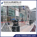 1X1m ajustable Aluminum stage with stairs