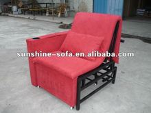 Steel Frame Folding Sofa Chair & Bed