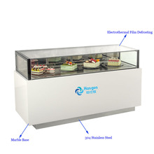 Automatic defogging Chocolate and cake display showcase