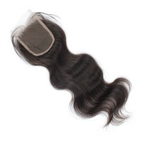 bangs lace closure,natural color body wave 12''~20'' wholesale price