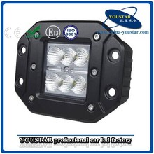 12 volt new 18w stainless steel led tractor headlight, IP67 waterproof led work lamp