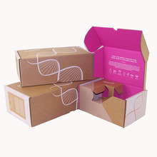 Custom Foldable Retail Printed Shipping Carton Packaging Box
