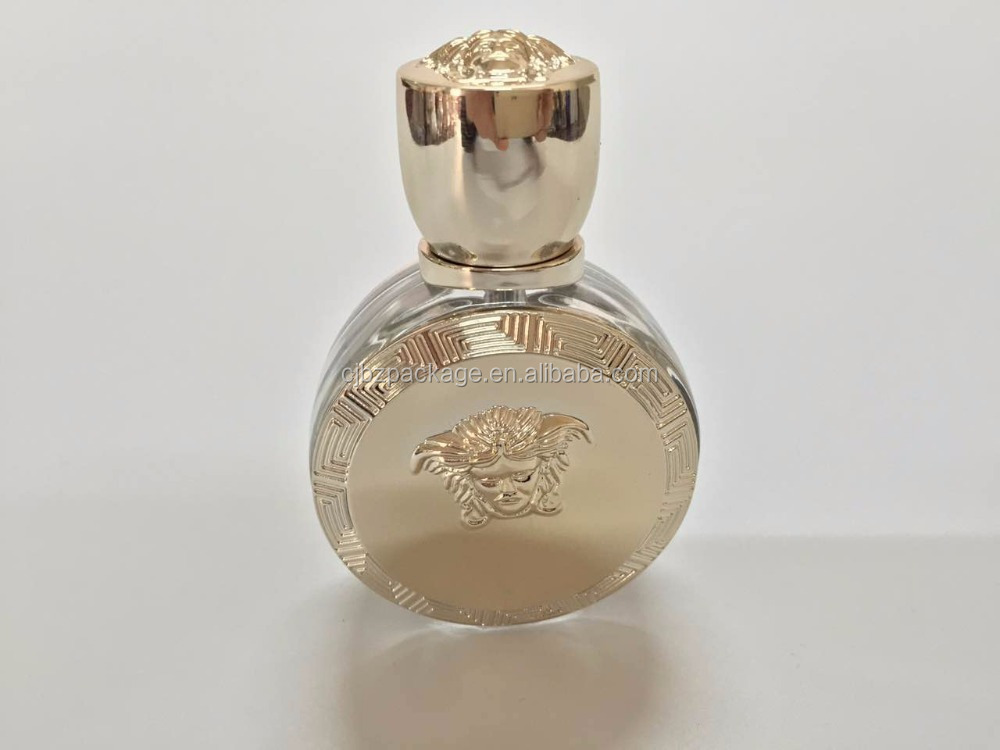 25ml hotly selling glass perfume bottle with unique shape