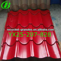 curving corrugated steel roof sheet for roof
