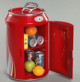 Can shape mini fridge, 12v dc fridge custom mini beer fridge with CE, RoHS, ETL
