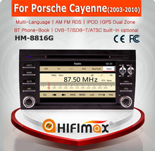 HIFIMAX Car dvd player for Porsche Cayenne Car Stereo with DVD GPS Navigation System Radio