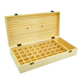 OEM hand-made Pine wooden box Large wood Essential Oil Box