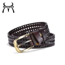 Fashion wholesale leather strap pu men belt