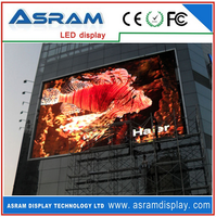 Alibaba express Best quality competitive price P10 full-color video SMD led display advertising screens / led display panel