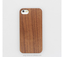 Real Natural Walnut Wood Rosewood Wooden Hard Back Cover Phone Case For Iphone 6/6s