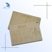 2014 New 3D High Quality Wholesale Custom/Unique Cool Design Handmade Carving/Printing Christmas Greeting Gift Card