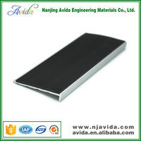 Flexible PVC Strip Filling Rubber Stair Nosing