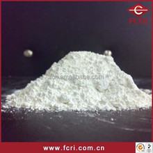 Powder shape calcined aluminium oxide powder