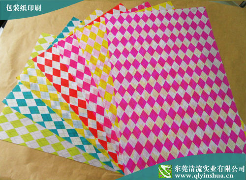 Cheap printed food wrapping paper for burger/sandwich/crepe