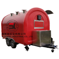 China hot dog fries food vending cart mobile dining car