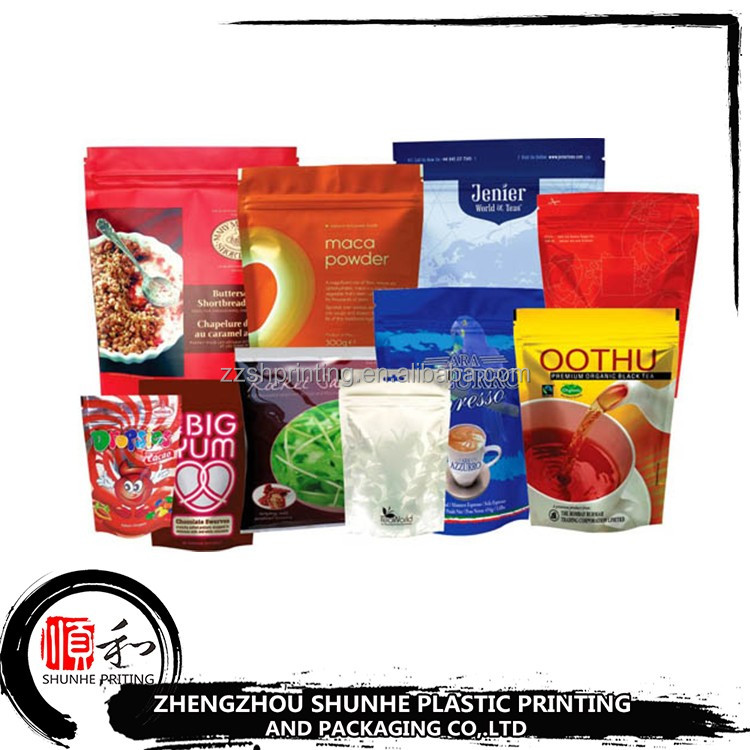 Hot selling customized printing food grade fast food snack plastic packaging bag
