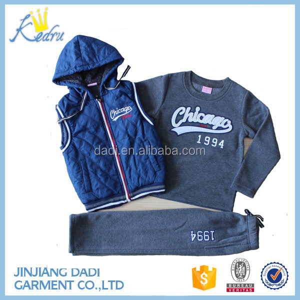 Wholesale Winter Fashion Hot Sell Children's Clothing sets 5Pcs