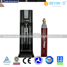 Soda water maker with 0.6L aluminum co2 cylinder filled with 420g co2 use for food grade