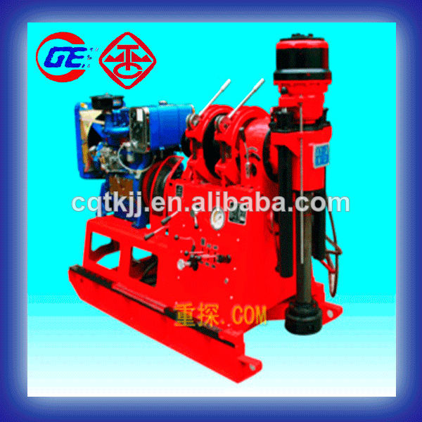 XY-2 New Condition and diesel or electric engine Power Type engineering geological drilling machine price