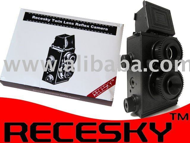 clone gakkenflex diy twin lens reflex 35mm pellicola fotografica - ANKUX Tech Co., Ltd
