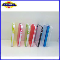2013 The New Design Phone Case For Iphone 4 4S New Tpu Gel Case 2 in 1