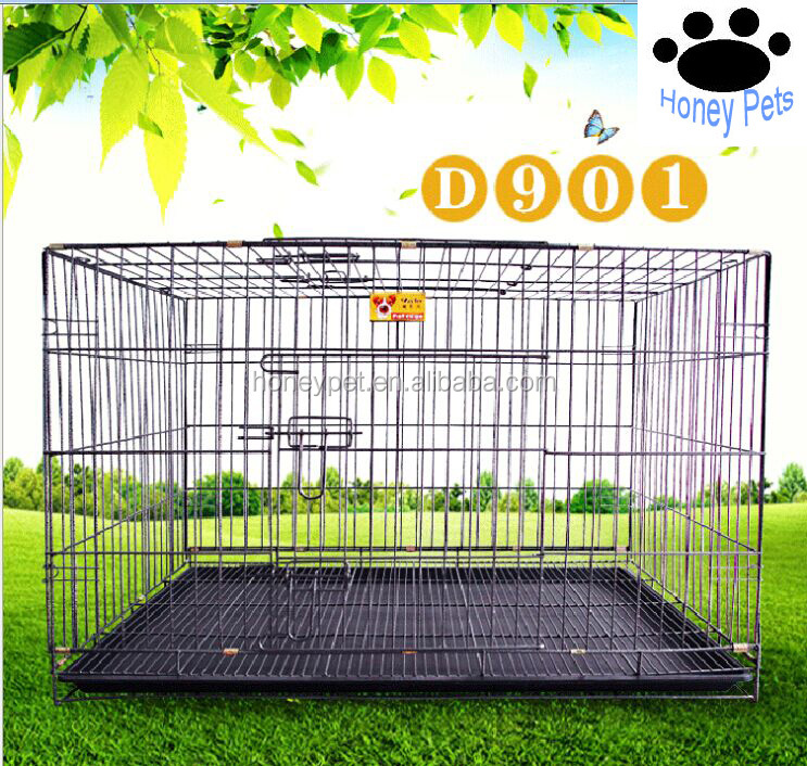 Wholesale training metal crates travel dog cage.