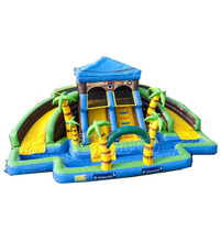 water park pirate house jungle inflatable giant adults/kids inflatable water park playground