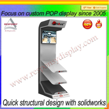 custome pop/pos floor stand video games display rack wholesale