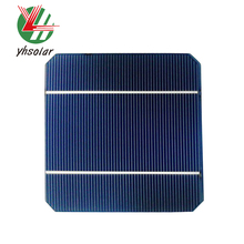 125 x 125 mm 5 inches 2 BB mono solar cells of High Efficiency Solar Cell