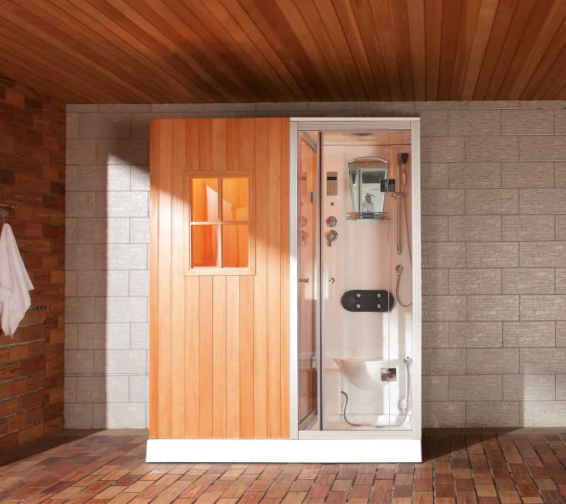 Sauna RoomSauna Shower Combination Ws 180100 1 Buy Sauna Shower