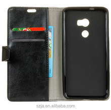Wholesale PU Leather Card Wallet Holster Case For HTC one X10