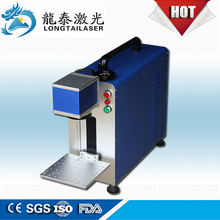 Manufacture Price 10W 20W 30W Metal Portable Fiber Laser Marking Machine