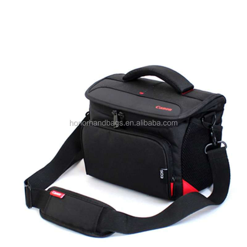 Cool Black Professional dslr camera bag waterproof camera bag