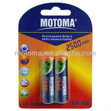 Ni-MH Rechargeable battery D C AA AAA 9V size for digital camera