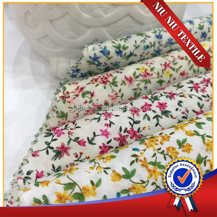 High quality 150m on sale floral wholesale printed 100 cotton fabric prices cotton textile in fabric for Thailand