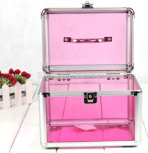 customize new disign makeup plastic container molded plastic case injection mold