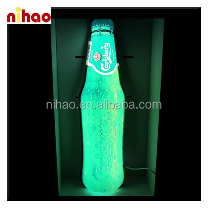 Customized LED Bottle Display