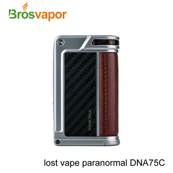 Newest Released Lost Vape Paranormal DNA75C with TFT Display