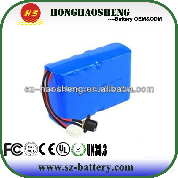 customized 18650 lion 3s4p mountain bike 12v12ah replacement battery