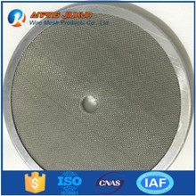 porosity SS316 metal filter discs with copetitive price