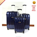 cool Cheap designer luggage abs PC travel trolley bag easy trip luggage set