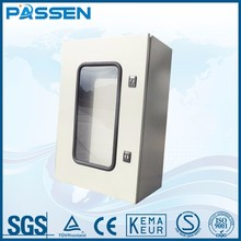 PASSEN outdoor electrical water-proof metal box stainless steel enclosure