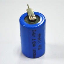 UL Approved 14250 AA Size 3.6V Lithium Battery for Gas Meter Heat Meter