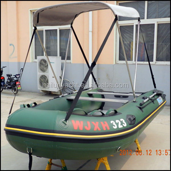 Light grey inflatable boats without engine aluminum hull for Lightweight outboard motors for sale
