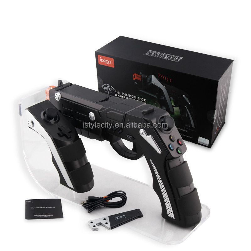 New gun controller for Cellphone, Tablet, PC or Smart TV/TV Box with bluetooth function