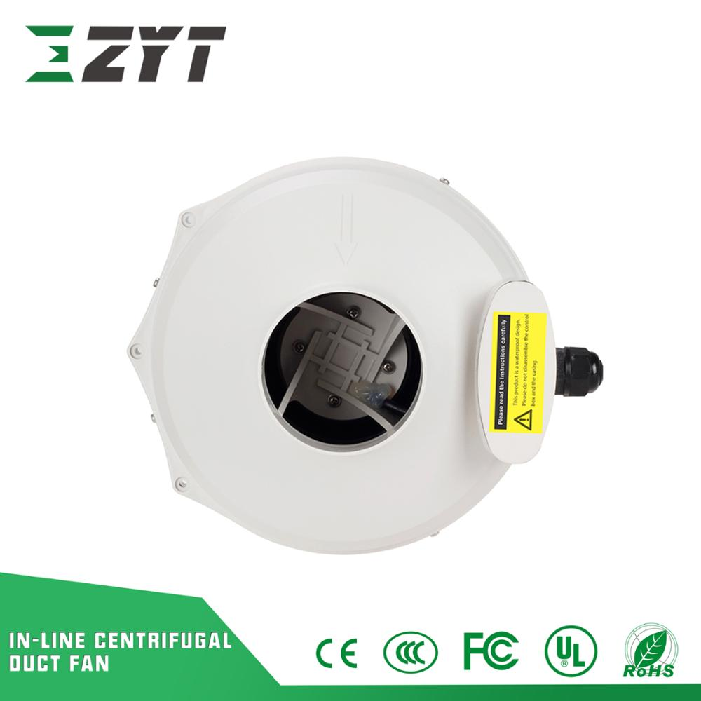 4' In-line Centrifuge Duct Fan, 120mm 150mm Centrifuge Tube Ducted Fan#