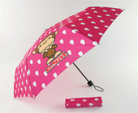 Paul Homme print high quality 3 fold umbrella