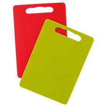 Bendy bright colorful kitchen cutting boards
